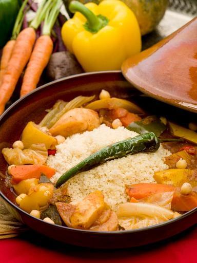 COUSCOUS KHOTHAR (Vegetarian)