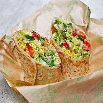 Caesar Salad Burrito (No Rice)
