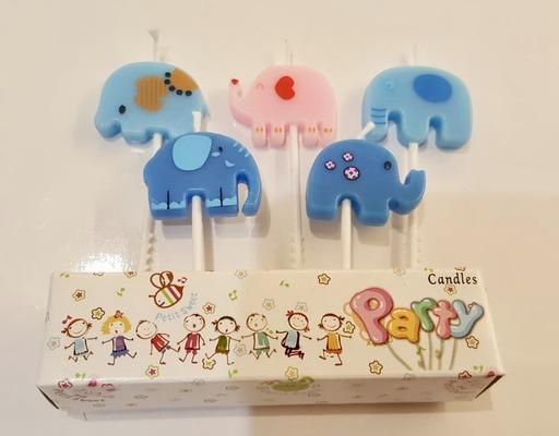 Candle set - Elephant