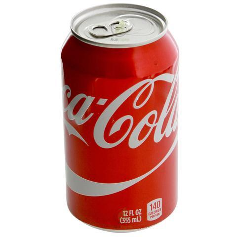 灌装饮料 Canned Drinks(Coke, Zero diet coke, Sprite)