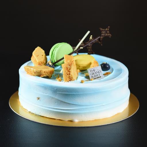 Caramel Sea Salt Cream Cake