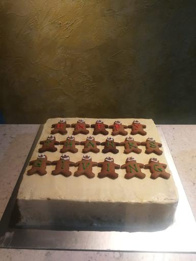 Carrot Cake with Cream Cheese Frosting (11inch square)