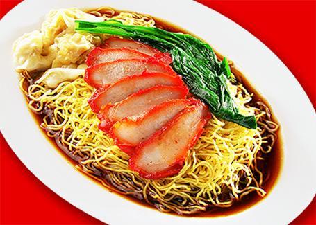 Char Siew Wanton Noodle 叉烧云吞面