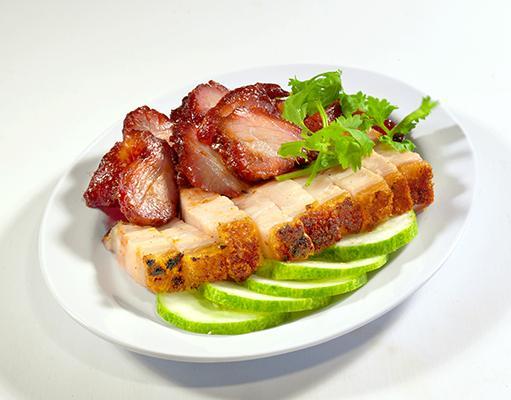 Char Siew + Roasted Meat Rice 叉烧烧肉饭