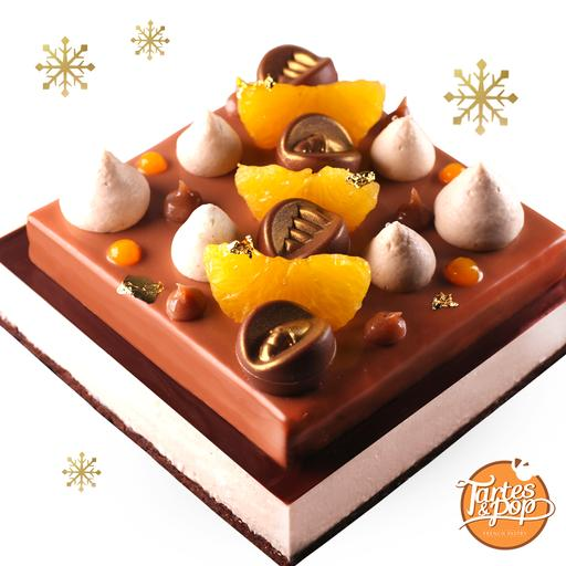 Chestnut Komikan cake