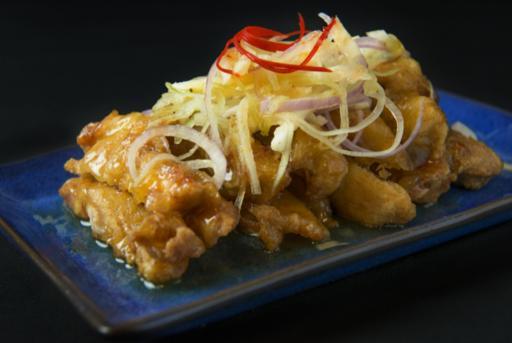Chicken Cutlet with Chef's Thai Sauce