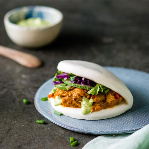 Chicken Masala Bao