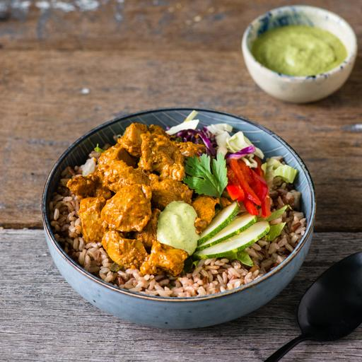 Chicken Masala Rice Bowl