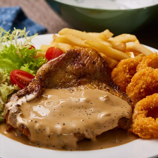 Chicken Steak-Out