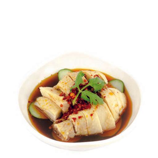 Chilled Chicken in Spicy Bean Paste 劲辣口水鸡