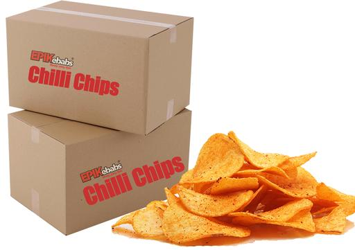 Chilli Chips 2kg carton (10 x 200g bags)