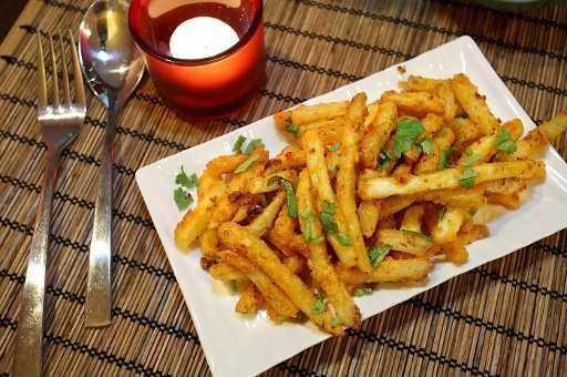 Chilli Honey Garlic Potatoes