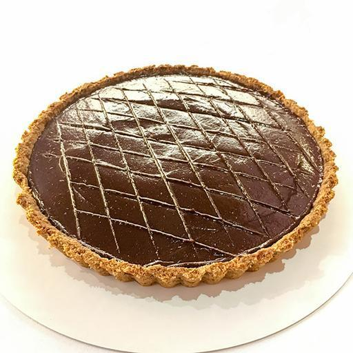 Salted Cardamom Chocolate Ganache Tart - RECOMMENDED