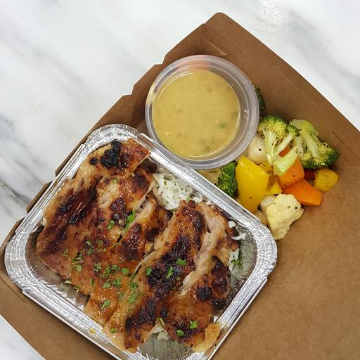 Cilantro Orange Chicken & Rice