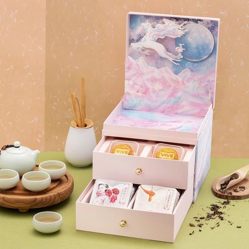 Classic Mooncake & Organic Tea Gift Box (Pre-order預售月餅券)