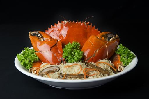 Claypot Bee Hoon Crab (DRY) 螃蟹焖米粉(干)