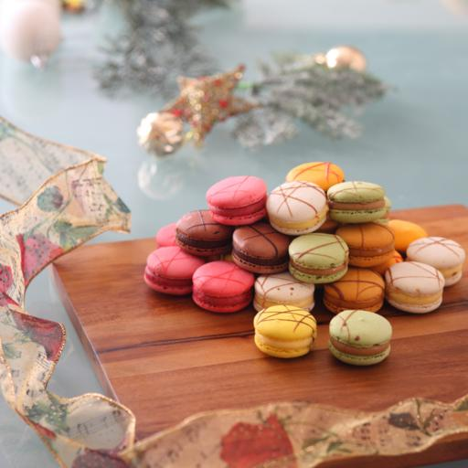 Color of Christmas Macaroons (36pcs)