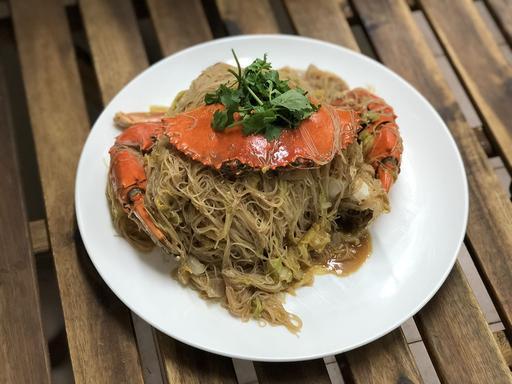 Crab Beehoon Fried