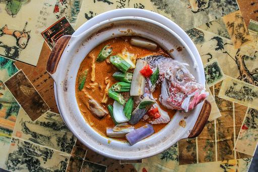 咖喱鱼头 Curry Fish Head