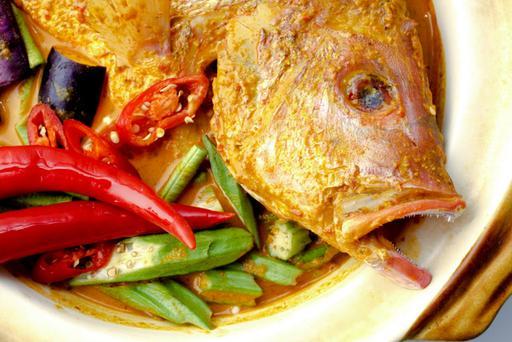 Curry Fish Head 咖喱鱼头