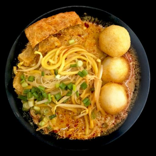 S36 - Curry Fishball Noodles