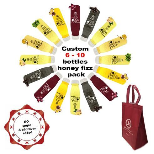 Custom 6-10 Bottles Honey Fizz Pack
