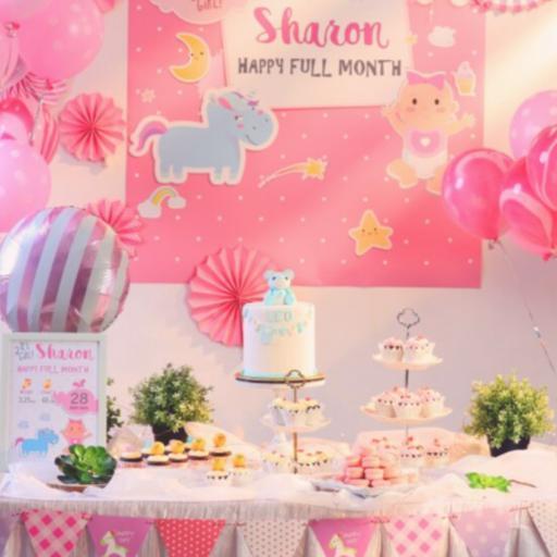 D.I.Y Dessert Table (Pink)