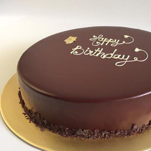 [SIGNATURE] [Valrhona Dark Chocolate Truffle Flourless Cake