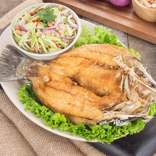 Deep Fried Fish with Fish Sauce