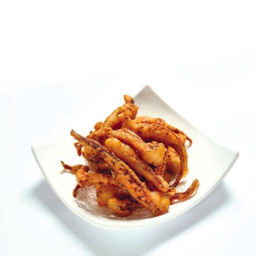 Deep Fried Salt & Pepper Squid Tentacles 椒盐炸珍宝须
