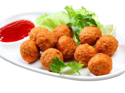 S1-Deep Fried Sotong Ball
