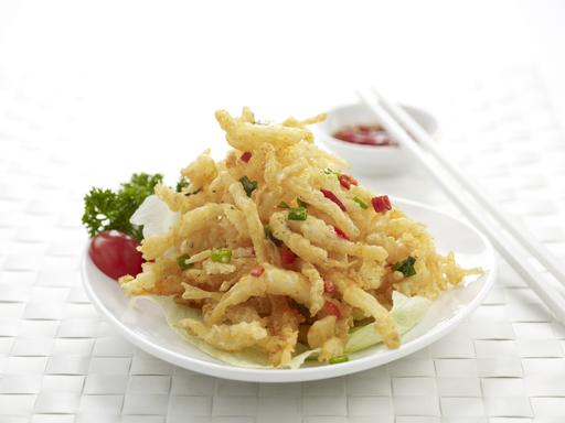 Deep Fried White Bait (椒盐银鱼)