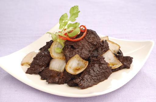 Deer Meat with Black Pepper 黑椒鹿肉