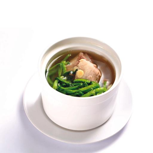 Double Boiled Spare Rib Watercress Soup 西洋菜炖排骨汤