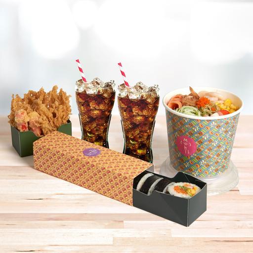 Double Joy: House Maki & Salad Combo