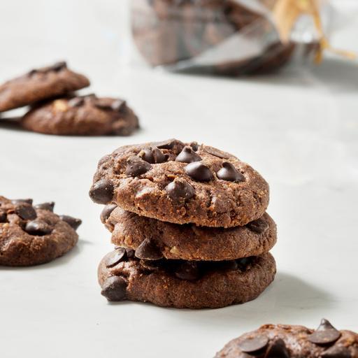 巧克力胡桃 Dough Choco, Pecan and Walnut Cookies