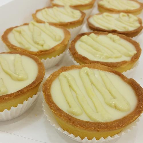 Durian Bean Curd Tarts (8pcs/box)