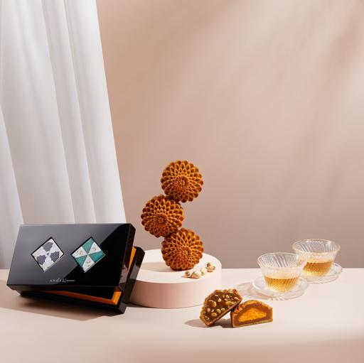 Andaz Singapore's Limited-Edition Baked Mooncake Collection