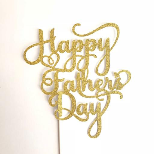 Father's Day Fancy Gold Topper