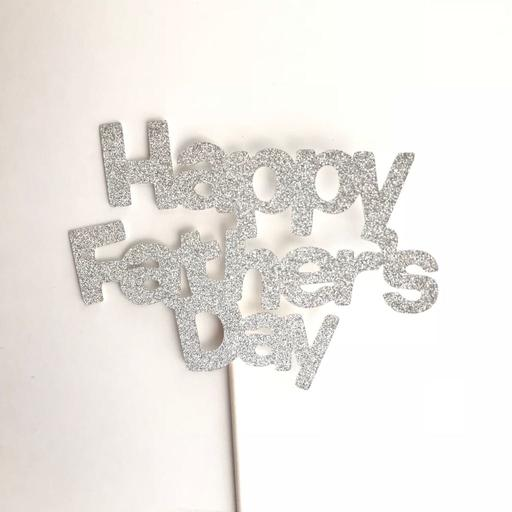 Father's Day Silver Topper