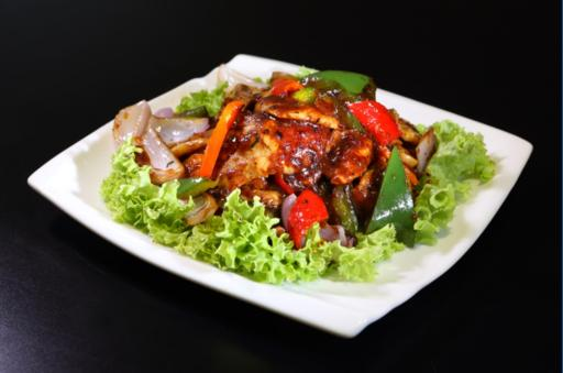 Fish Fillet with Black Bean Sauce