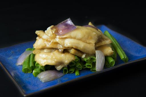 Fish Fillet with Ginger and Spring Onion 姜葱斑球