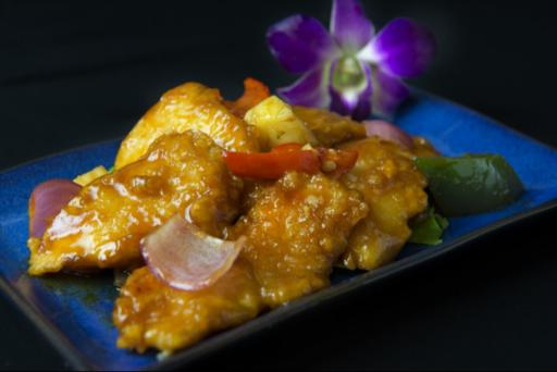 Fish Fillet with Sweet & Sour Sauce