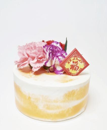 Goji Wild Orange Cake 杞子香橙