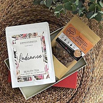 Radiance Tea and Cookie Set 花康運來