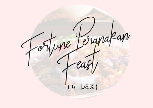 Fortune Peranakan Feast ( 6 Pax )