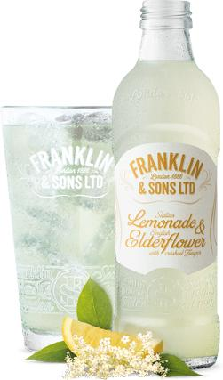 Franklin and Sons Soda- Lemonade and Elderflower