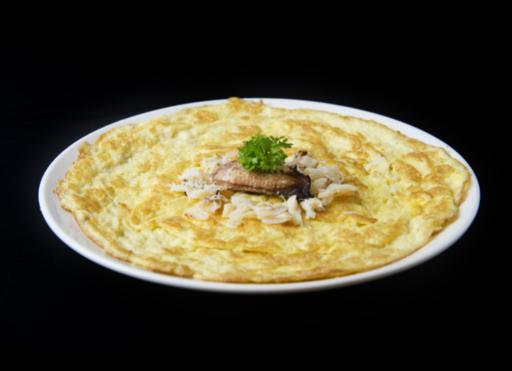 Fresh Crab Meat Omelette
