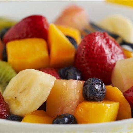 Fresh Juicy Fruit Bowl