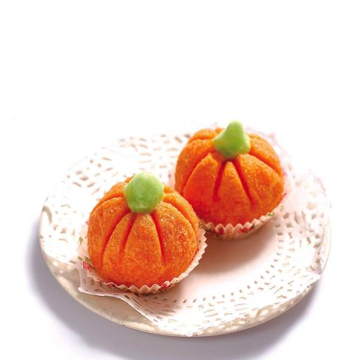 Fried Custard Pumpkin 奶黄南瓜果 (1pcs)